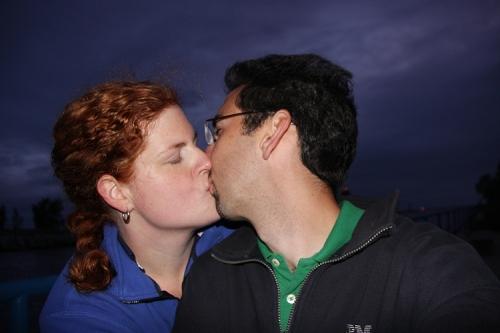 We kiss